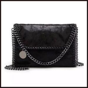 Handbags - New The Alicia Cross-Body Black Bag